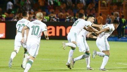 Afrika şampiyonu 'Cezayir' oldu