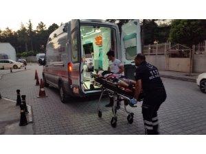 Konya'da motosiklet kazası: 2 yaralı