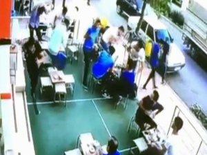 Siirt'te müşterilerin üzerine cam parçaları düştü