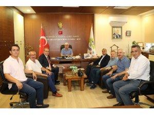 CHP Genel Başkan Yardımcısı Öztrak'tan Ergene Belediyesi'ne ziyaret