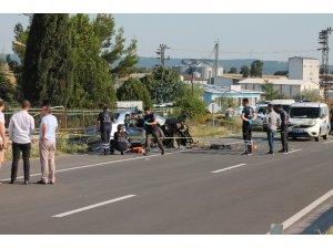 Uzunköprü'de trafik kazası: 3 ölü, 3 yaralı