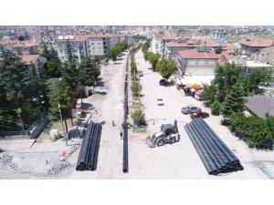 Nevşehir Belediyesi'nden Mustafa Parmaksız caddesine dev yatırım