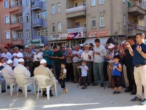 Hisarcık'ta 20 kişilik hac kafilesi kutsal topraklara uğurlandı