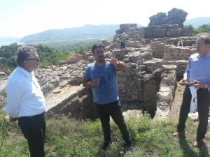 Zonguldaklı iş adamından Filyos Antik Kenti için girişim