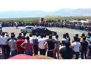 Modifiye araç tutkunları Erzincan'da buluştu