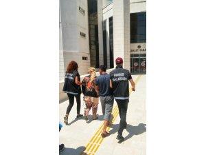 Edremit'te uyuşturucu operasyonu 2 tutuklama