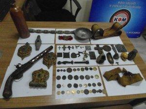 Bolu'da, 78 parça tarihi eser ele geçirildi