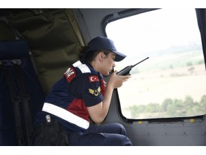 Kurban Bayramı öncesinde Sikorsky helikopterle trafik denetimi