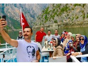 40 ilden eğitimci, aileleriyle birlikte Samsun'da ağırlandı