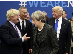 """Trump'tan İngiltere'nin yeni başbakanına tebrik: """"Muhteşem olacak"""""""
