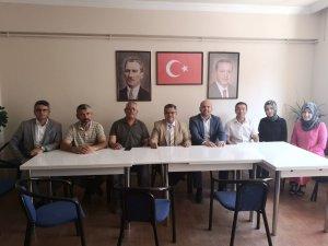 Milletvekili Yağcı, Bozüyük AK Parti İlçe Teşkilatını ziyaret etti