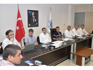 Biga Belediyesinde BİÇAY toplantısı