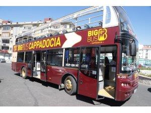 Dünyaca ünlü şehir içi turistik turlar yapan Big Bus artık Nevşehir'de
