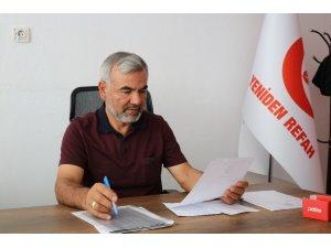 """Yeniden Refah Partisi İl Başkanı Yavuz: """"Yeni parti çalışmaları ile Cumhurbaşkanına haksızlık yapılıyor"""""""