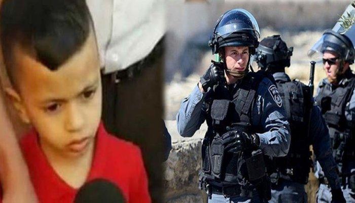 Filistin'de İsrail zulmü! 4 yaşındaki çocuğu ifadeye çağırdılar