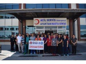 """İl Sağlık Sen Başkanı Çavdar: """"Tıbbi cihaz ve malzeme alımına izin verilmesini istiyoruz"""""""