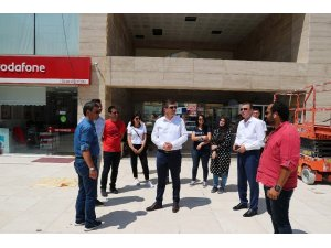 Burdur Belediyesinden Bedesten Çarşısı'na yenileme çalışmaları