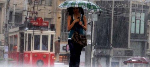 İstanbul için son dakika yağış uyarısı!