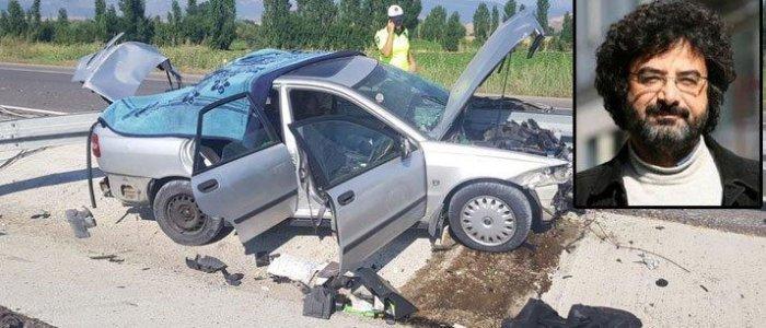 Gazeteci Cüneyt Cebenoyan Konya'da geçirdiği trafik kazasında hayatını kaybetti!