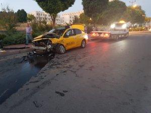 Ürgüp'te trafik kazası: 2 yaralı