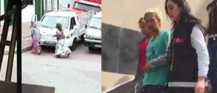 Polisin hırsızlarla imtihanı... Biber gazı sıkıp, ısırdılar!