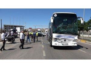 Yolcu otobüsü ile tır çarpıştı: 6 yaralı