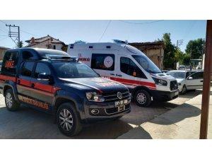 Afyon UMKE ve 112 Acil Sağlık ekipleri tedbir amaçlı bölgeleri taradı