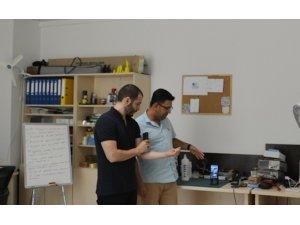Samsun TEKNOPARK firmasından Türkiye'nin ilk mobil ultrason cihazı