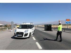 Erzincan'da trafik denetimi yapıldı