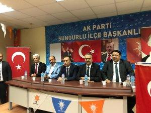 AK Parti'den teşkilatlara bayram ziyareti