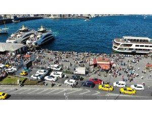 Bayramının 3. gününde vatandaşlar sahile ve yeşil alanlara akın etti