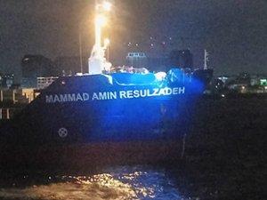 Mammad Amin Resulzadeh gemisi ile Doric Warior gemisi, Ahırkapı'da çatıştı