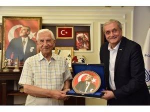 Eski Genelkurmay Başkanı Kıvrıkoğlu'ndan Başkan Bakkalcıoğlu'na ziyaret
