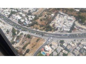 Bayramın son günü Muğla'da trafik havadan ve karadan denetlendi