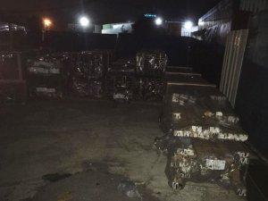 Çalıntı 500 bin liralık alüminyum İstanbul'da bulundu