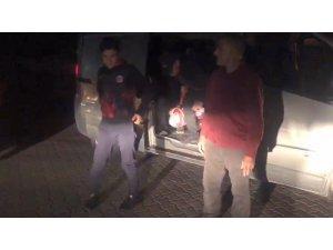 Tekirdağ'da 75 kaçak göçmen ve 3 organizatör yakalandı