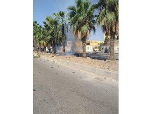 Kamışlı'da bombalı araçla saldırı: 1 terörist öldü