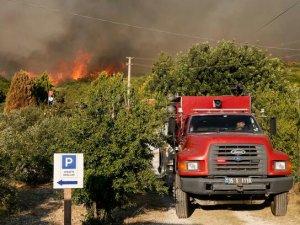 Ege'nin ciğerleri yanıyor! Pakdemirli: 500 hektarlık alan zarar gördü