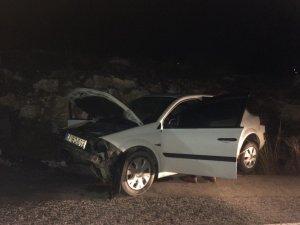 Gülümbe rampalarında trafik kazası; 2 yaralı