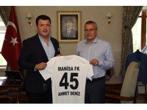 Manisa FK'dan Vali Daşöz'e ziyaret