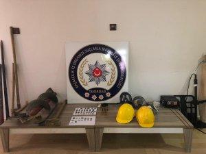 Tekirdağ'da tarihi eser operasyonu