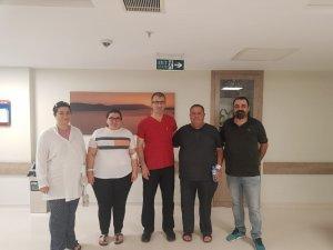 Obezite'den kurtulmak için Hatem Hastanesine geldiler