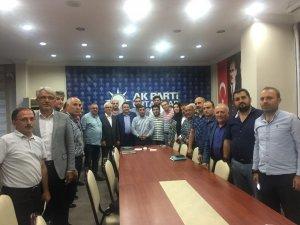 AK Parti Ortahisar'da Cumhurbaşkanı Recep Tayyip Erdoğan mesaisi