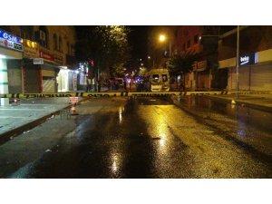 Diyarbakır'da terör yandaşları yolcu minibüsünü ateşe verdi