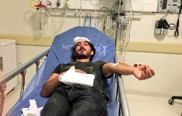 Sağlık raporu alamayan vatandaş, doktoru hastanelik etti!
