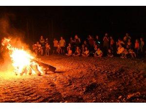 Büyükşehir Belediyesi, anne ve çocuklarının kamp hayalini gerçekleştirdi