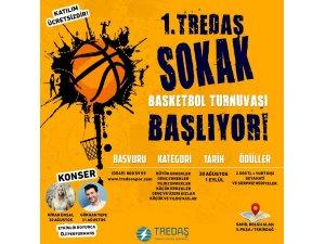 TREDAŞ, sokak basketbolu turnuvası için sahaya iniyor