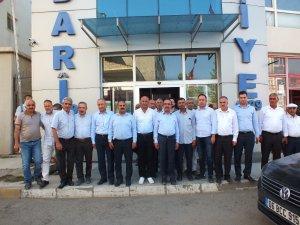 Tarım ve Orman Bakan Yardımcısı Akif Özkaldı, Malazgirt Belediyesini ziyaret etti