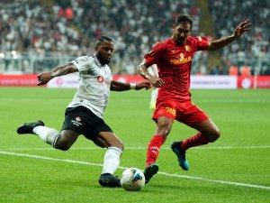 Süper Lig: Beşiktaş: 1 - Göztepe: 0 (İlk yarı)