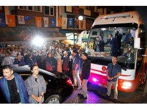 Cumhurbaşkanı Erdoğan babaocağı Güneysu'da hemşehrilerine hitap etti